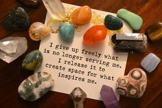 #affirmations #resolutions #intentions April 2017