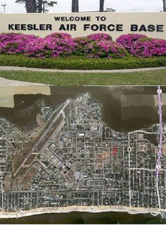 Keesler AFB - Biloxi, MS Where we were stationed at in Mississippi from 1980-1983