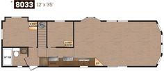 Lakeside Series Floor Plan