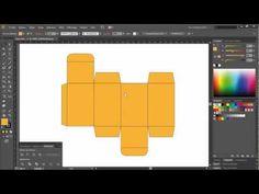 Carton Packaging Design in 5 minutes - Adobe Illustrator - YouTube