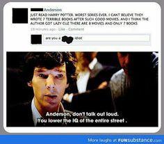 Faith in humanity lost... Sherlock fandom strikes again!