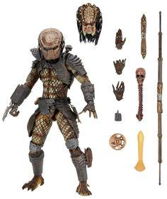 "7"" Predator 2 Ultimate City Hunter Figure From NECA"