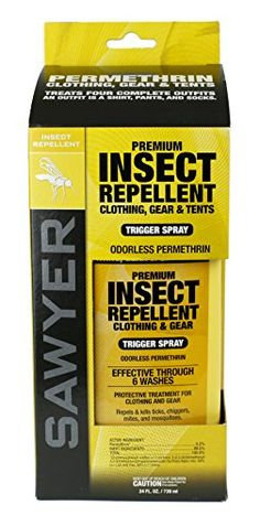 Sawyer Products Premium Permethrin Clothing Insect Repellent Trigger Spray…