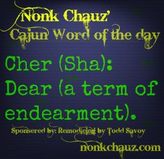 #32, Cajun Word of the Day