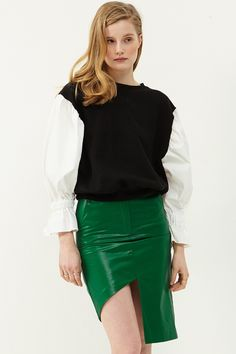 aab7b1a2 Molly Cut Out Skirt >>Discover the latest fashion trends online at  storets