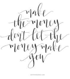Make The Money - Macklemore - Saffron Avenue : Saffron Avenue