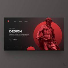 Ui Ux Design, Your Design, Web Layout, Web Design Inspiration, Instagram, Link, Shots, Website Layout