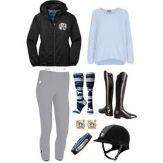 """Blue!"" by horse-love on Polyvore"