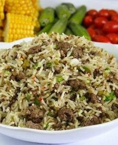 Recipe for Creole Dirty Rice - Here's a great recipe for your Mardi Gras celebration. Creole Recipes, Cajun Recipes, Rice Recipes, Casserole Recipes, Seafood Recipes, Beef Recipes, Cooking Recipes, Haitian Recipes, Donut Recipes