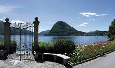Discover Parco Ciani, Lugano in Ticino, the Mediterranean soul of Switzerland. Lugano, Oh The Places You'll Go, Places To Visit, Visit Switzerland, Hiking Trails, Alps, Travel Guides, Beautiful World, Marina Bay Sands