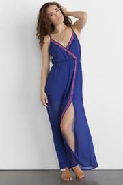 La Vega Embroidered Maxi Dress