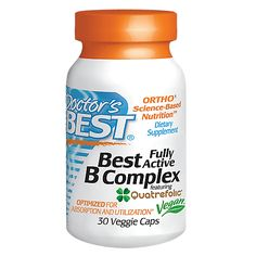 Best B Complex (30 Veggie Caps) by Doctors Best at the Vitamin Shoppe Mobile