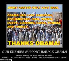 Our enemies support Barabk Obama.