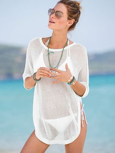 High-low Cover-up - For Honeymoon in Mexico!