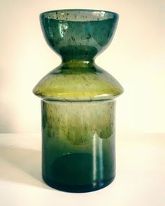 Vases, Glass Art, Bottles, Art Deco, Polish, China, Green, Crafts, Beautiful