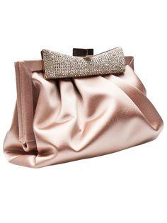 Valentino Garavani Women's Blue Leather Clutch Handbag Bag Pink Clutch, Clutch Purse, Handbag Accessories, Fashion Accessories, Sacs Design, Dresses Elegant, Looks Chic, Valentino Garavani