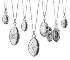 Petite Bridle Locket - Lockets - Jewelry