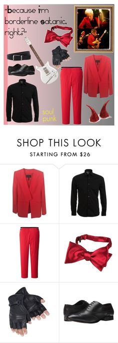 """Devil! Patrick Stump"" by soul-stumph ❤ liked on Polyvore featuring BCBGMAXAZRIA, POGGIANTI, Uniqlo, Forzieri, Fitzwell and Osprey"