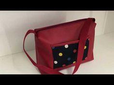 Coudre un petit sac en similicuir Tuto couture Madalena - YouTube