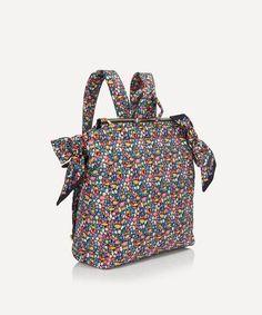 Black Side, Plain Black, London Bags, Liberty Print, Scarf Design, Liberty Of London, Ditsy Floral, Printed Bags, New Bag