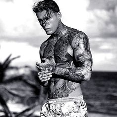 Stephen James | British Tattoo Male Model