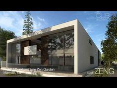 Proiect Condominium Zen Garden Mamaia, CT Condominium, Cube, Zen, Architecture, Videos, Garden, Outdoor Decor, Design, Home Decor