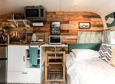 Transformed 1962 vintage camper motel                                                                                                                                                                                 More