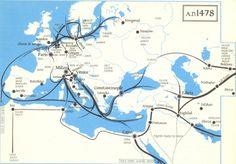 AD 1478 Trade Route