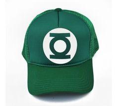 Boné - Trucker - Lanterna Verde - Verde 247c64a2081ca