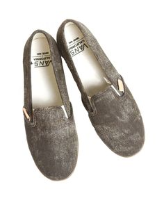 Brown Vans Flats - available at Showcase