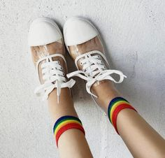 Harajuku Transparent Lace Up Shoes YV2326