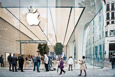 Visite guidée et vidéo de l'Apple Store de Bruxelles