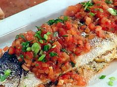 Whole Artic Char Baked in Salt Crust with Roasted New Potatoes Recipe : Emeril Lagasse : Recipes : Food Network