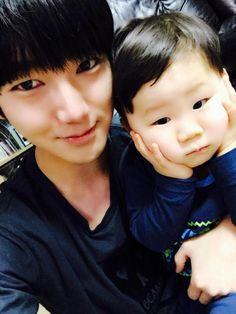 Yesung <3 nuestro hijo <3  OK NO