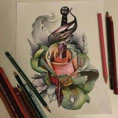 Custom pencil drawing by artist @_rostra_  #artinspires #artislife #artordie #theartisthemotive .