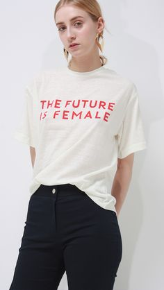 the future is female t-shirt – LOÉIL
