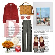 """""""Berlin&Me"""" by beograd-love ❤ liked on Polyvore featuring Taschen, MaxMara, Ray-Ban, Zara, MCM and Christian Louboutin"""