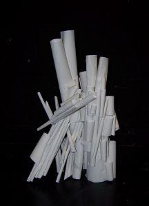 High School - Paper Sculptures