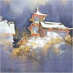 Thomas W. Schaller「Kiyomizu-dera in Snow」