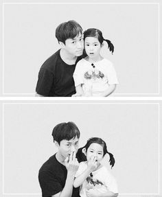 Father and Daughter Tablo & Haru ^. Korean Wave, Korean Star, Korean Music, Korean Drama, Korean Tv Shows, Korean Variety Shows, Lee Haru, Eddy Kim, Superman Baby