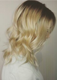 Shadow root blonde hairpainting
