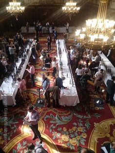 Thorman Hunt and Co tasting event 2014.