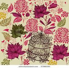 Image result for vintage flower background vector free download