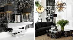 Коллекция Black&white Eichholtz - мебель, свет, аксессуары в наличии со скидкой // роскошный интерьер Eichholtz, luxury Eichholtz interior, мебель, освещение, аксессуары, гостиная, living room, furniture, lighting, accessories #eichholtz #эйхольц #idcollection