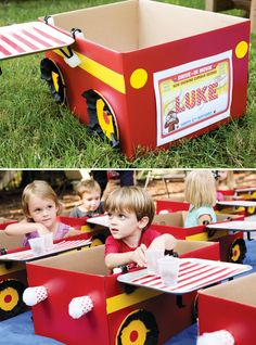 "Creative Curious George Inspired ""Drive-In Movie"" Party"