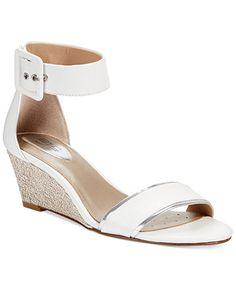 For Nancy!  Don't dawdle!  It's a sale! Alfani Women's Kyrah Wedge Sandals