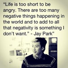 Wise words ~ from Jay park... this man is like this at heart and makes dope hiphop! awesome