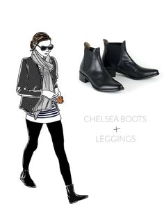 Chelsea boots, also known as Jodhpur boots or Paddock boots are close-fitting, ankle-high boots. The most notable features are the elastic side panel and a tab on the back of the boot, making it si...