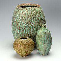 Various pots by Peter Beard Glass Ceramic, Ceramic Clay, Ceramic Bowls, Mosaic Glass, Ceramic Pottery, Stoneware, Pottery Sculpture, Sculpture Clay, Decoration