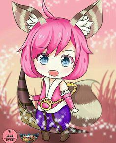 Legend Drawing, The Legend Of Heroes, Mobile Legend Wallpaper, Games Images, Furry Girls, Bts Chibi, Mobile Legends, Oriental, League Of Legends